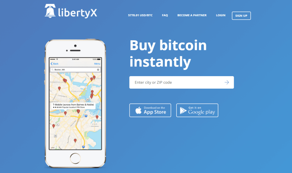 LibertyX.com screenshot